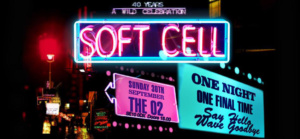 Soft Cell gig poster