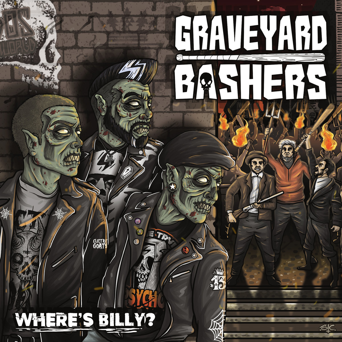 Graveyard Bashers cover
