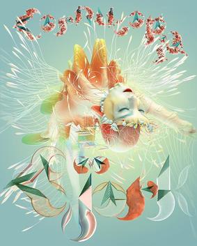Bjork cornucopia poster
