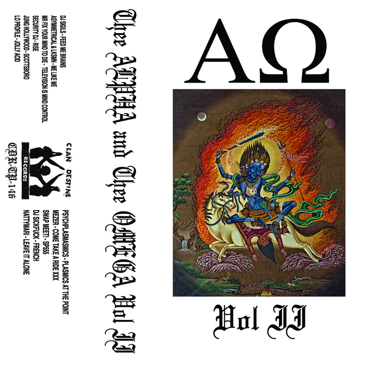 Thee Alpha and Thee Omega Vol II cover