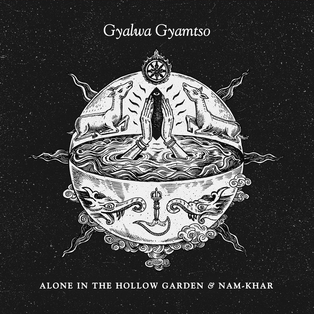 Alone in the Hollow Garden cover