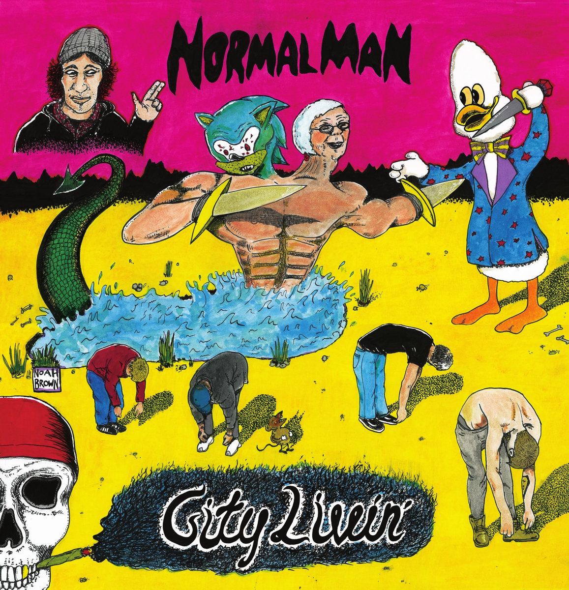Normal Man cover