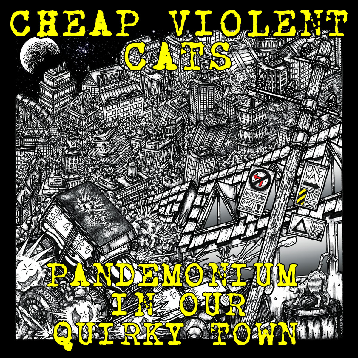 Cheap Violent Cats cover